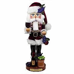 Steinbach Winemaker Santa 18.25-Inch Nutcracker