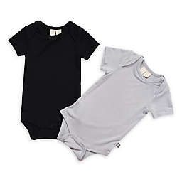 Kyte BABY 2-Pack Bodysuit in Midnight and Storm