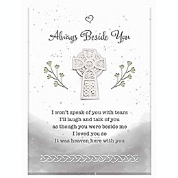 Precious Moments® Always Beside You Plaque