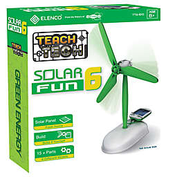 Build-It-Yourself 6-in-1 Solar Powered Robot