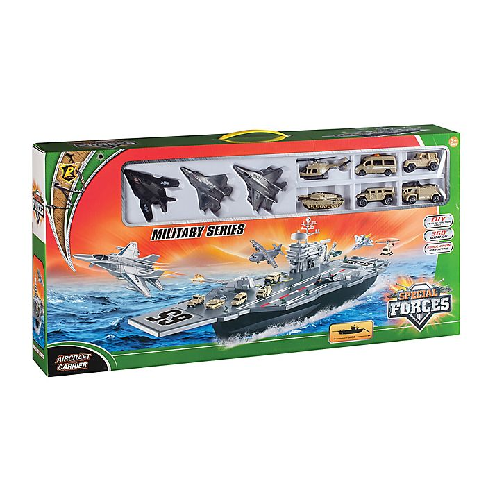 Alternate image 1 for Aircraft Carrier Military Series Set