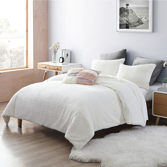 Alternate image 1 for UGG® Charlise Faux Fur 3-Piece Comforter Set