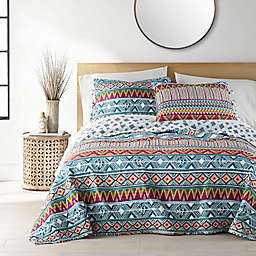 Kumar 3-Piece Reversible Full/Queen Quilt Set