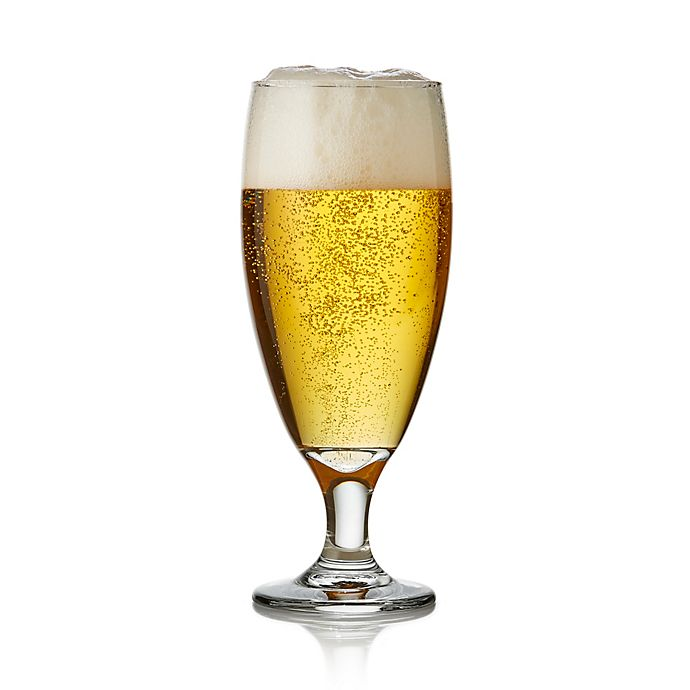 Alternate image 1 for Libbey® Craft Brews Nucleated Pilsner Glasses (Set of 4)