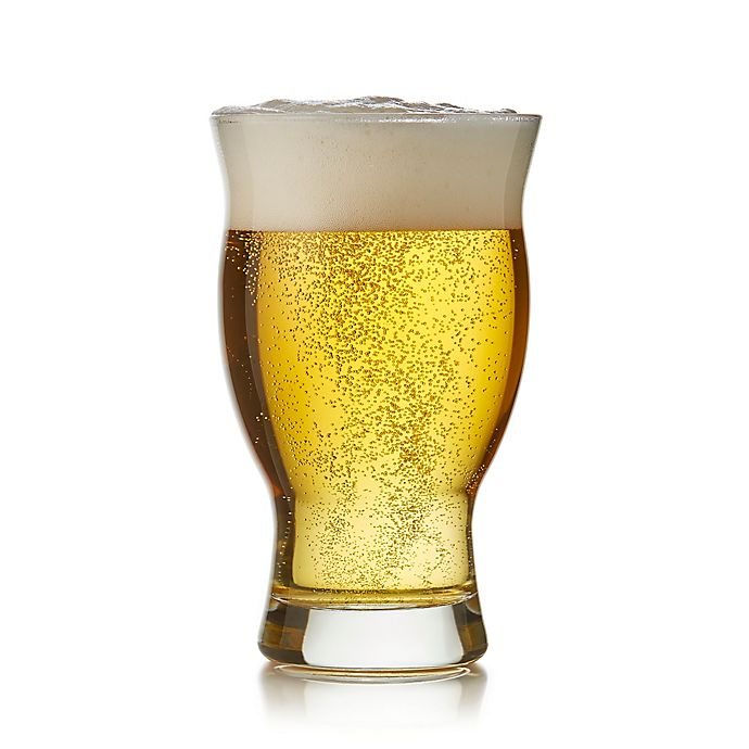 Alternate image 1 for Libbey® Craft Brews Nucleated Pint Glasses (Set of 4)