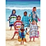 Part of the Kids Printed Hooded Beach Towels