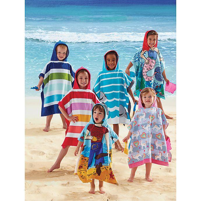 Alternate image 1 for Kids Printed Hooded Beach Towels