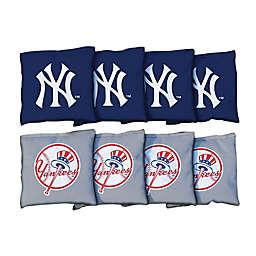 MLB New York Yankees Corn-Filled Cornhole Bags (Set of 8)