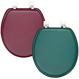 Ginsey Soft Padded Round Toilet Seat