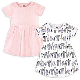 Hudson Baby® 2-Pack Safari Dress in Pink