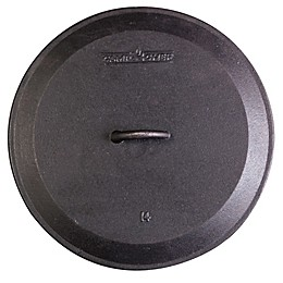 Camp Chef Pre-Seasoned Round Cast Iron Skillet Lids