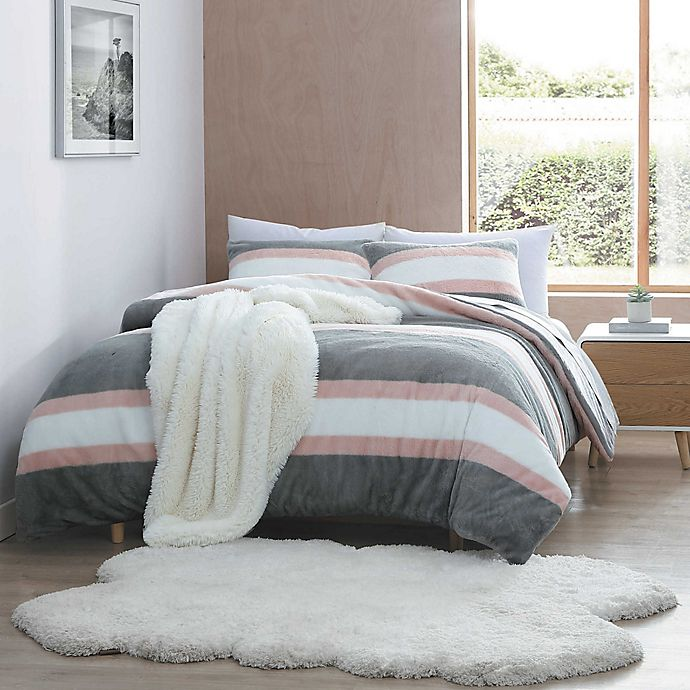 Alternate image 1 for UGG® Keily Polar Faux Fur 2-Piece Twin/Twin XL Comforter Set