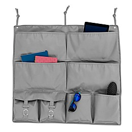 Honey-Can-Do® 2-In-1 Bed Organizer in Grey