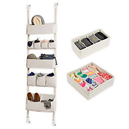 Honey-Can-Do® Drawer and Over-The-Door Organization Kit in Natural