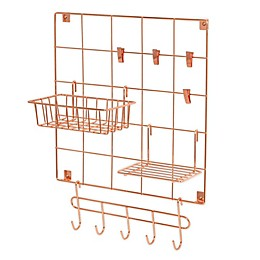 Honey-Can-Do® 8-Piece Wire Wall Grid