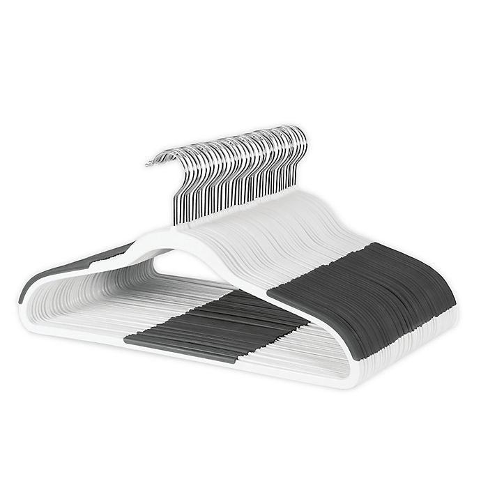 Alternate image 1 for ORG Slim Grips Suit Hangers (Set of 50)