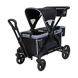 Baby Trend® Muv® Expedition® 2-in-1 Double Stroller Wagon PRO in Black