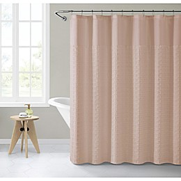 VCNY Home 72-Inch x 72-Inch Geometric Shower Curtain