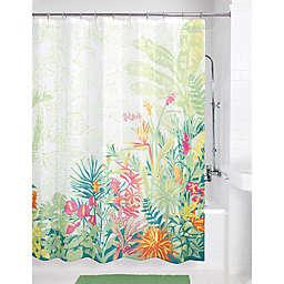 72-Inch x 70-Inch Key Largo Shower Curtain