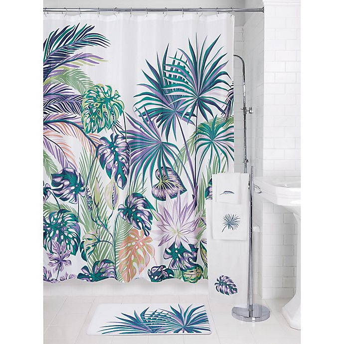Alternate image 1 for Palm Shower Curtain