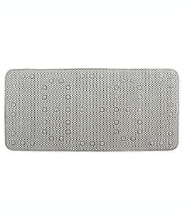 Tapete para regadera Splash Home color gris claro