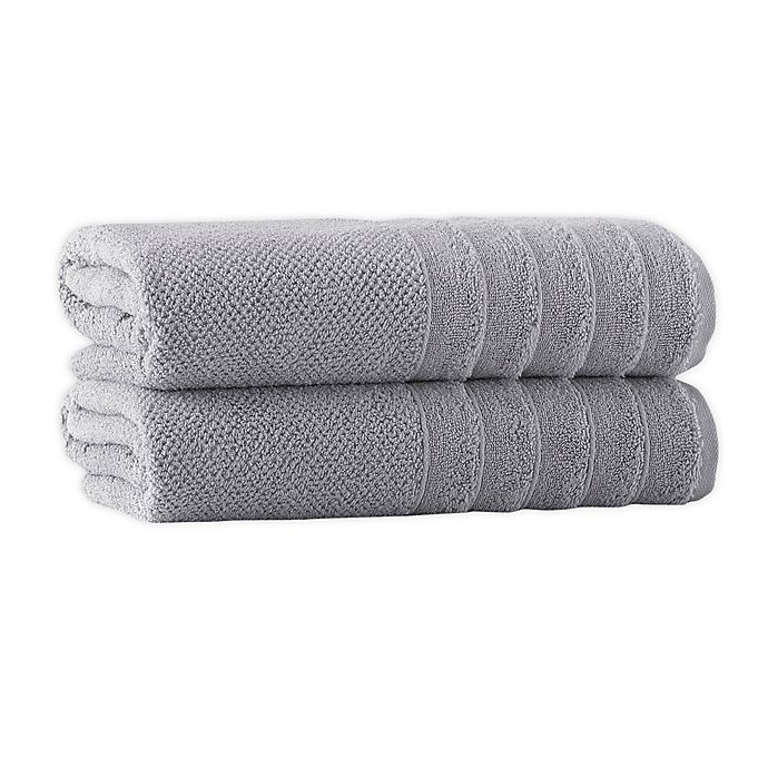 Alternate image 1 for Enchante Home® Veta Bath Sheets (Set of 2)