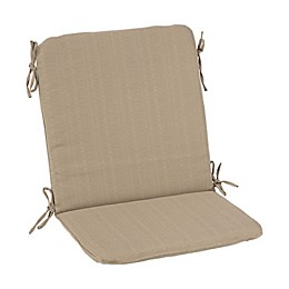 Medford Solid Outdoor Mid-Back Chair Cushion