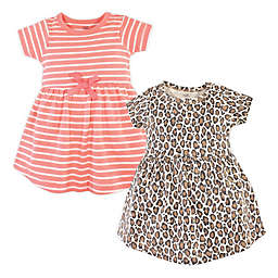 Touched by Nature 2-Pack Organic Cotton Dresses