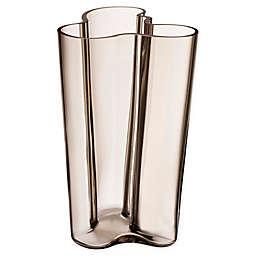 Iittala Alvar Aalto 10-Inch Vase in Linen