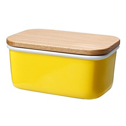 Butter Dish with Beech Wood Lid