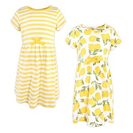 Touched by Nature 2-Pack Organic Cotton Dress