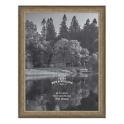 Bee & Willow™ Home 18-Inch x 24-Inch Wooden Picture Frame in Light Chocolate