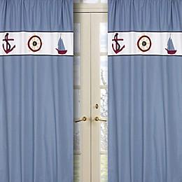 Sweet Jojo Designs Come Sail Away Window Panel (Set of 2)