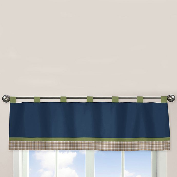 Alternate image 1 for Sweet Jojo Designs® Construction Zone Window Valance