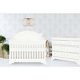 evolur Signature Belle Nursery Furniture Collection in White