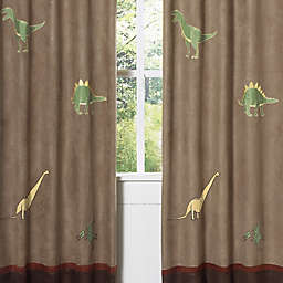 Sweet Jojo Designs® Dinosaur Land Window Panel Pair