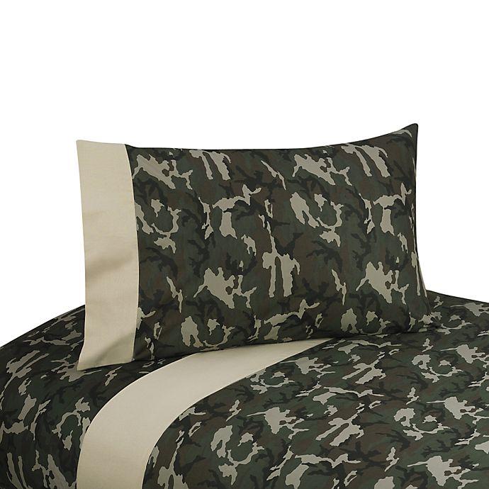 Alternate image 1 for Sweet Jojo Designs Camo 3-Piece Twin Sheet Set