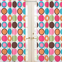 Sweet Jojo Designs Deco Dot Large Dot Print Window Panel Pair