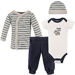 Luvable Friends® Preemie 4-Piece Tough Guy Layette Set