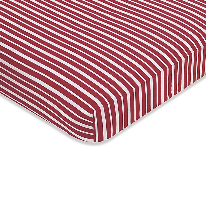 Alternate image 1 for Sweet Jojo Designs Vintage Aviator Fitted Crib Sheet