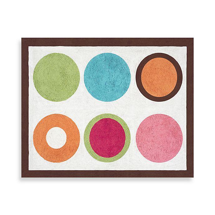 Alternate image 1 for Sweet Jojo Designs Deco Dot Floor Rug