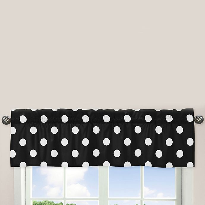 Alternate image 1 for Sweet Jojo Designs Hot Dot Window Valance