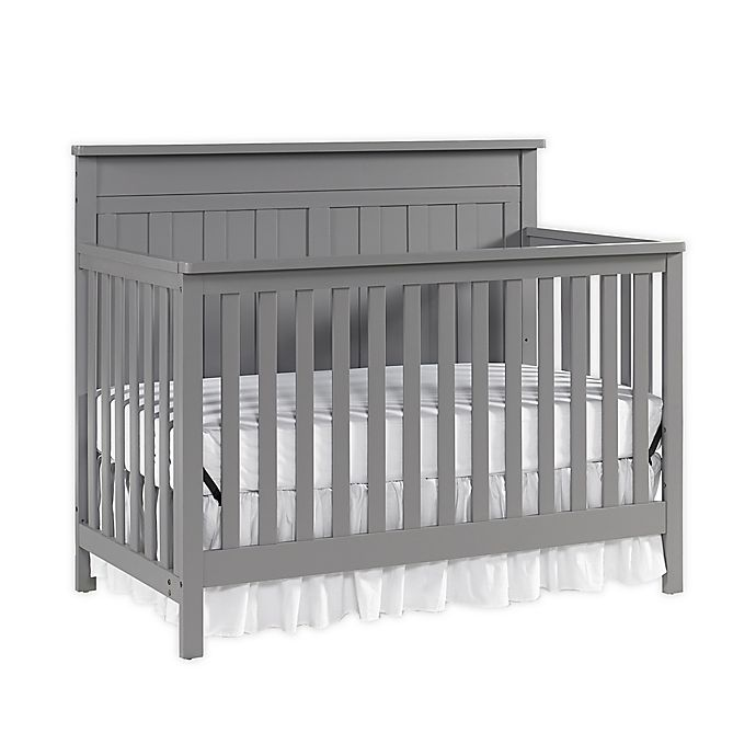Alternate image 1 for fisher-price® Clayton 4-in-1 Convertible Crib
