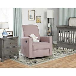 evolur Raleigh Glider Rocking Chair in Lilac