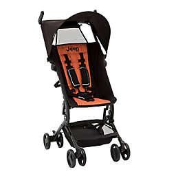 Delta Children Jeep® Clutch Plus Travel Stroller in Black/Orange