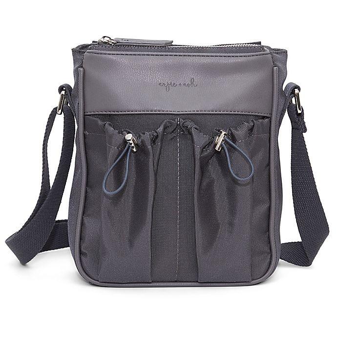 Alternate image 1 for Anjie + Ash™ Parent Crossbody Diaper Bag in Slate Grey
