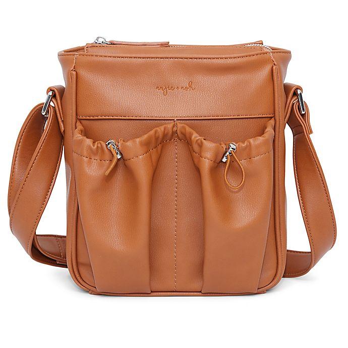 Alternate image 1 for Anjie + Ash™ Parent Crossbody Diaper Bag in Brown