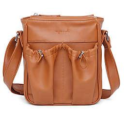 Anjie + Ash™ Parent Crossbody Diaper Bag in Brown