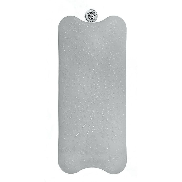 Alternate image 1 for Ubbi® Cushioned Tub Mat in Grey