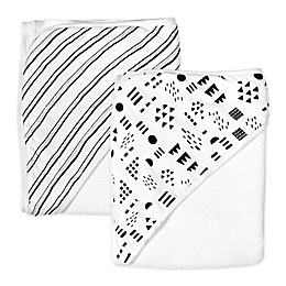 The Honest Company® 2-Pack Pattern Play Hooded Towels